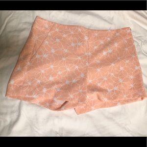Coral Pink Banana Republic Shorts